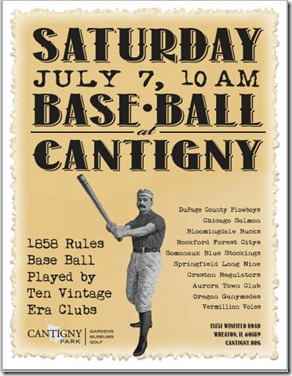 base ball at catigny
